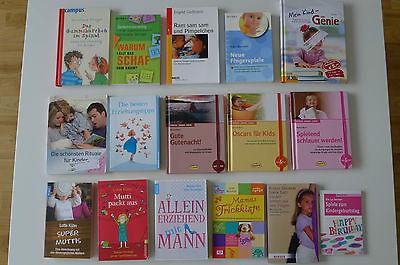 Bücherpaket Erziehung Ratgeber Gedächtnistraining Romane Fingerspiele TOP!!!