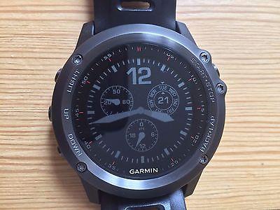 Garmin fenix 3, GPS-Multisportuhr mit Smartwatch-Funktionen