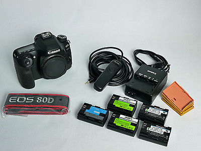 CANON EOS 80D Gehäuse Body DSLR Kamera