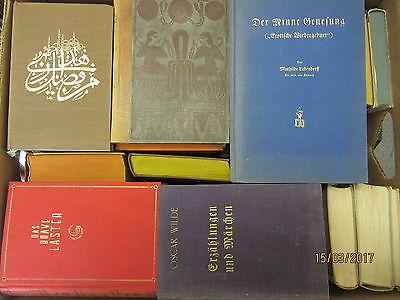 54  Bücher antiquarische Bücher