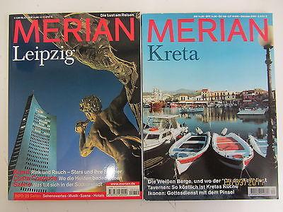72 Bücher Merianhefte Merian Reiseführer Reiseberichte Länderberichte