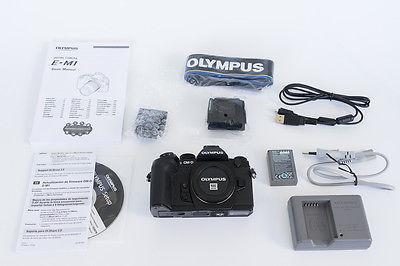 Olympus OM-D E-M1 schwarz Gehäuse