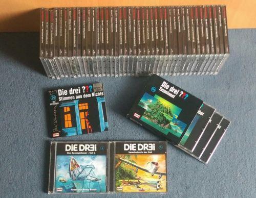 Die Drei Fragezeichen und Die Drei, CD Sammlung