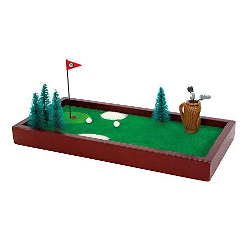 Geschicklichkeitsspiel Tischgolf, fördert die Feinmotorik und Konzentration, Spielspaß für die ganze Familie