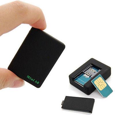 MINI SIM GSM GPRS GPS TRACKER Auto Kind Real Time EchtZeit Verfolgung Locator OP