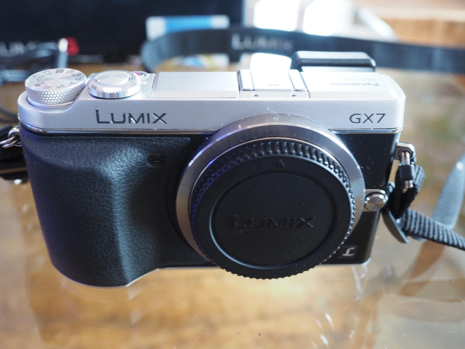 Panasonic Lumix GX7 MFT Systemkamera.