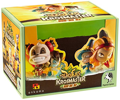 Pegasus Spiele 51065G - Krosmaster: Blindbox Display - Serie 2