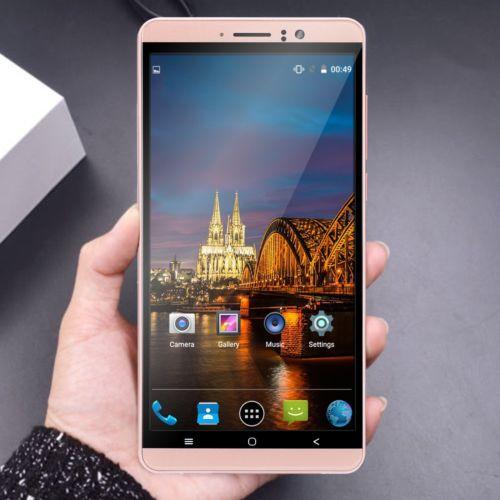 6 Zoll Android 5.1 Smartphone 2 SIM Handy Quad Core 3G 8GB Ohne Vertrag XGODY