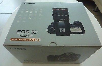 Canon EOS 5D Mark III Kit m/ EF 24-105mm Neu!!!