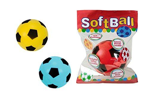 Simba Toys 107351200 Soft-Fußball Schaumstoff, 3-fach sortiert