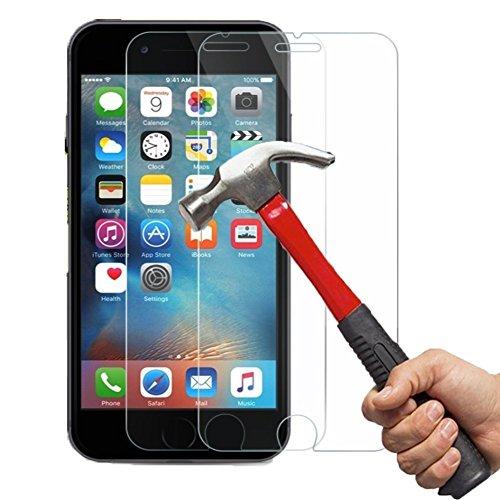 iPhone 6/6S Panzerglas Kapoo Gehärtetem Glas Schutzfolie Hartglas Schutzglas 9H 0,26mm Glas Panzersglas Schutzfolie für iPhone 6/6S[2 Pack]-1 Jahr Garantie
