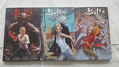 Buffy Staffel 10, Comics, Bände 1, 3, 4