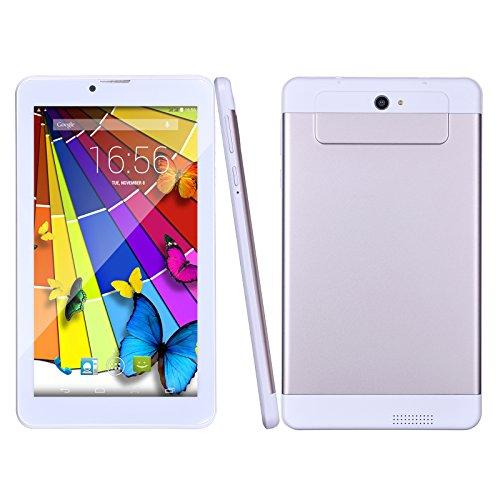 BM Tablet PC 7 Zoll 3G Telefonanruf Quad Core 8GB ROM 1GB RAM Android 5.1 Lollipop 1024x600 Auflösung WiFi GPS Bluetooth(Gold)