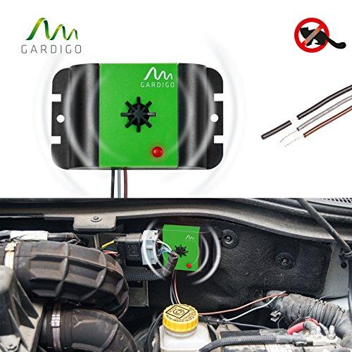 Gardigo Marder-Frei Auto Ultraschall, Marderschreck, Marderschutz, Marderscheuche, Marderabwehr, Marderfrei, einfache Installation im KFZ, für alle Automarken geeignet