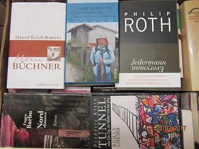 54  Bücher Hardcover Romane Sachbücher verschiedene Themen