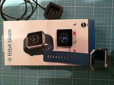 Fitbit Blaze Größe S Blue Band OVP