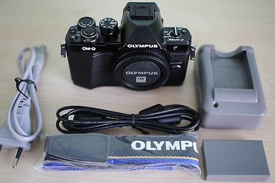 Olympus OM-D E-M10 Mark II Systemkamera 16 Megapixel, schwarz