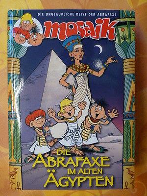 Mosaik Sammelband - Die Abrafaxe im alten Ägypten