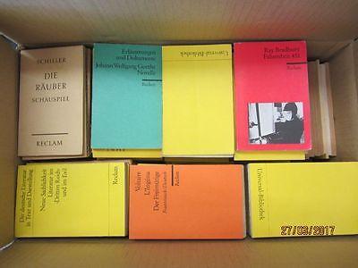 168 Bücher Hefte Reclam Verlag Reclamhefte Reclam Hefte