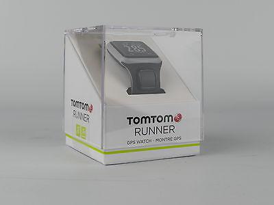 TomTom Runner GPS-Uhr Laufuhr Sportuhr Dunkelgrau