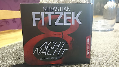 Sebastian Fitzek-AchtNacht incl. Gratis Versand.!