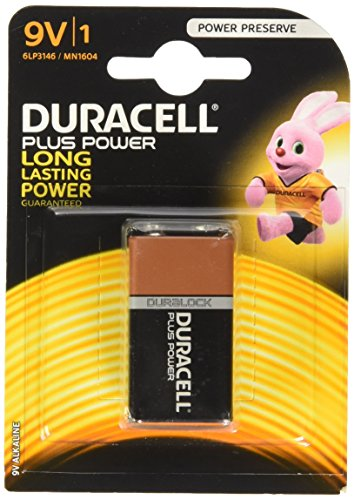 Duracell Plus Power Batterie 9V (MN1604/6LF22) 1er