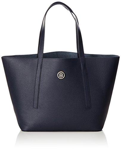 Tommy Hilfiger Damen Bag Tote, Blau (Tommy Navy / Denim), 13x28x41 cm