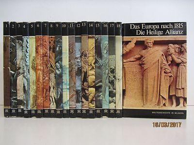 Weltgeschichte in Bildern 19 Bände Kulturgeschichte Kunstgeschichte