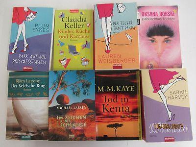 61  Bücher Romane Top Titel Bestseller Paket 2