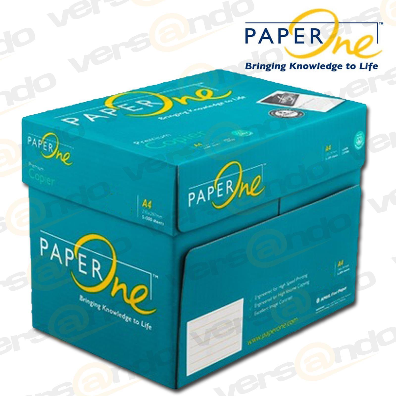 2500 Blatt PAPIER Marke Paper One DIN A4 weiß KOPIERPAPIER DRUCKERPAPIER Seiten