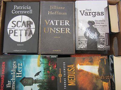 34 Bücher Romane Krimi Thriller Psychothriller  Top Titel Bestseller Paket 1