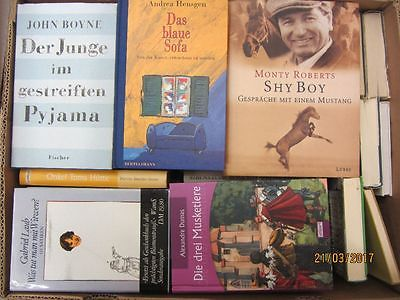 51 Bücher Hardcover Romane Sachbücher verschiedene Themen Paket 2