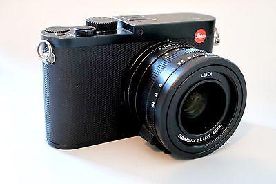 Leica Q Typ 116 26.3MP Digitalkamera, Restgarantie, Zubehörpaket, super Zustand