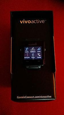 Garmin Sport GPS Smartwatch Vivoactive mit Brustgurt in OVP und Rechnung