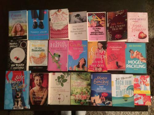 ??Bücherpaket Frauenromane 21 Stück??