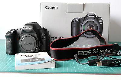 Canon EOS 5D Mark II SLR-Digitalkamera (Nur Gehäuse) 53717 Ausklösungen
