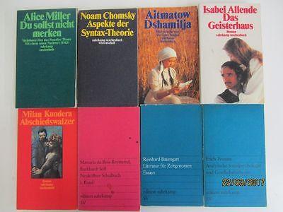 89 Bücher Taschenbücher suhrkamp Verlag