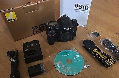 Nikon D610 - SLR-Digitalkamera - 24,3 MP - FX - neuwertig - nur 4200 Auslösungen