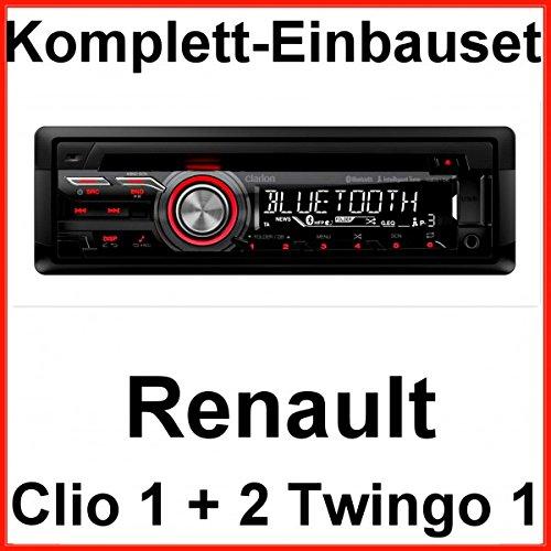 Komplett-Set Renault Clio 1 2 Twingo 1 Clarion CZ315E USB CD MP3 AUX Bluetooth