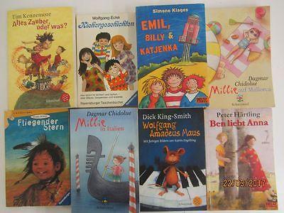110 Taschenbücher Kinderromane erstes Lesen junge Leser