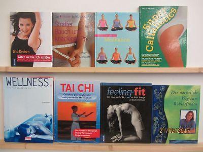 35 Bücher Wellness Fitness Bodyfieling Bauch Beine Po Wohlbefinden