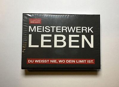 Christian Bischoff - Meisterwerk Leben Hörbuch Box USB-Stick