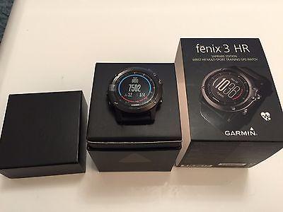 GARMIN Fenix 3 HR Sapphire Edition Phenix Pulsmessung/GPS/Fitnessuhr Saphir