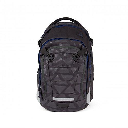 Ergobag Satch Match School Backpack 48 cm Black Triad