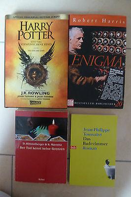 Bücherpaket 7: Harry Potter und das verwunschene Kind, Enigma,...