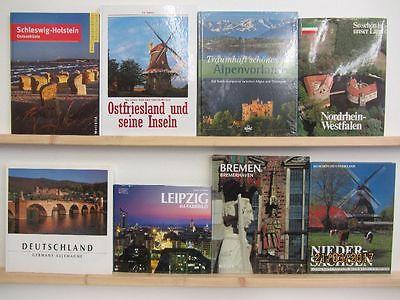 25 Bücher Bildbände Deutschland deutsche Bundesländer deutsche Städte Paket 2