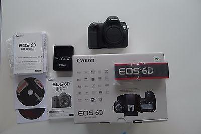 Canon EOS 6D Body (Nur Gehäuse) 1Jahr alt - mit Rechnung - 1815 Auslösungen