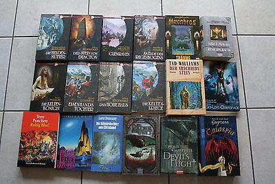 18 Fantasy Bücher Paket, Pratchett, T.Williams, Jay Lake, Phant. Edition (FB)
