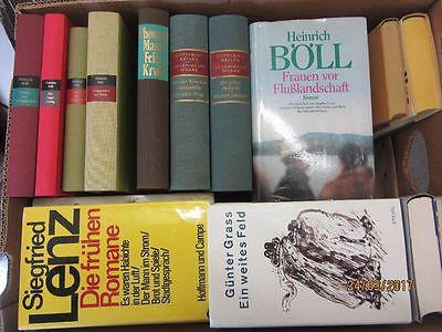 33 Bücher Romane deutsche Klassiker Böll Lenz Mann Grass Keller u.a.