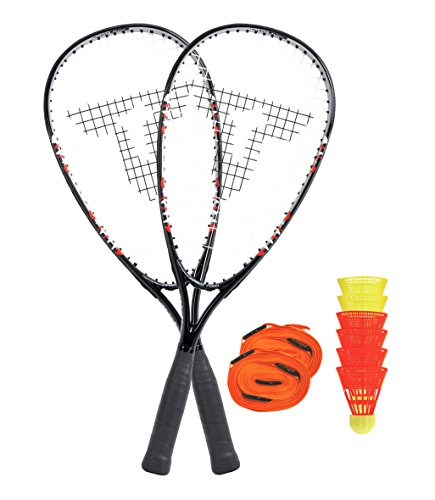 Talbot Torro Speed Badminton Set 7000 im Slingbag, Black, 490107